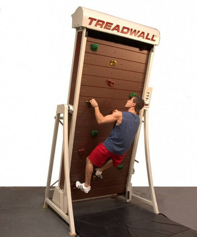 The Rock Climbing Treadmill Another Reason Not To Leave Your Apartment