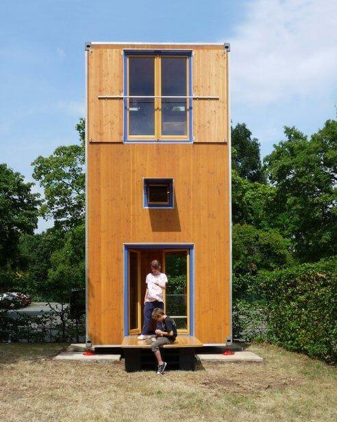 forget an apartment how about a shipping container