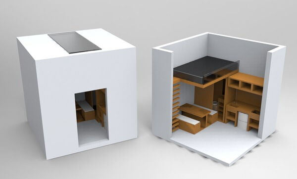 Who Wants To Live In A 3X3 Meter Cube Apartment Geeks