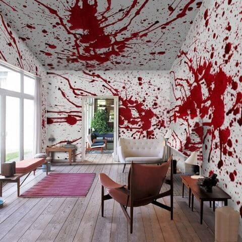 How To Make Your Apartment Look Like A Murder Scene