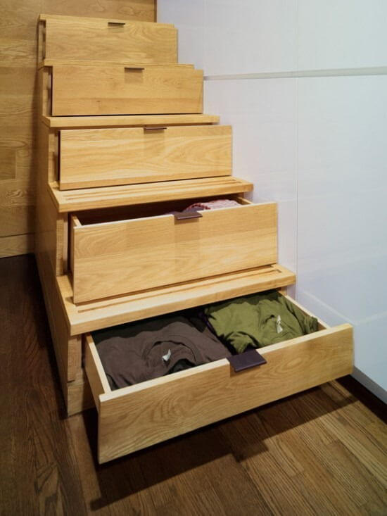 Stair-drawers