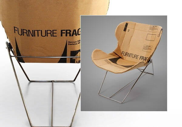 repurposed_cardboard_chairs