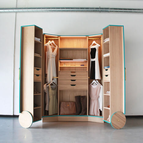Compact Walk In Wardrobe Apartment Geeks