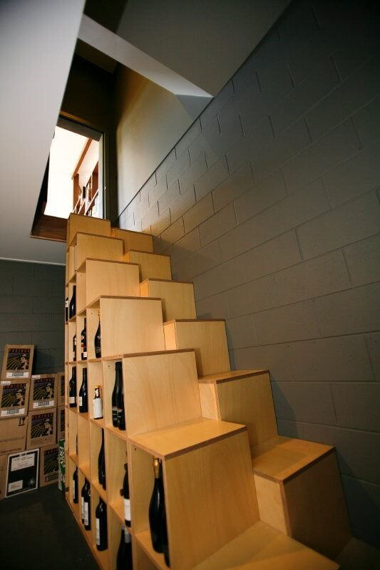 wine-storage-stairs
