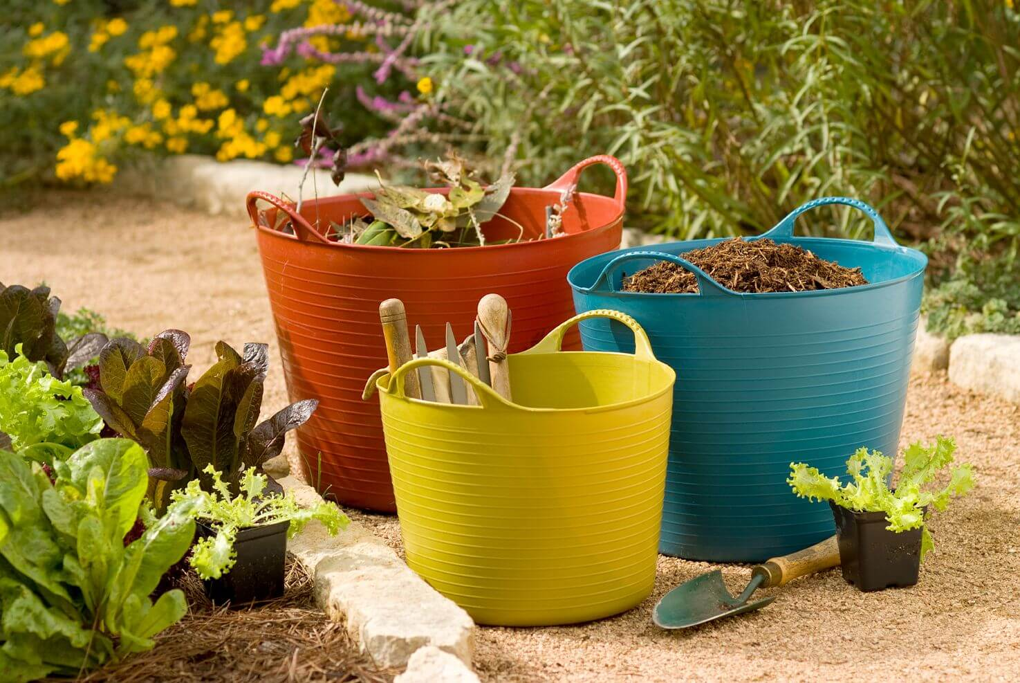 8 good ideas to organize your gardening tools and supplies ...