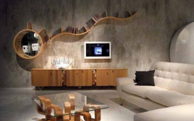 Â Modern Living Room With An Artistic Touch Part 30