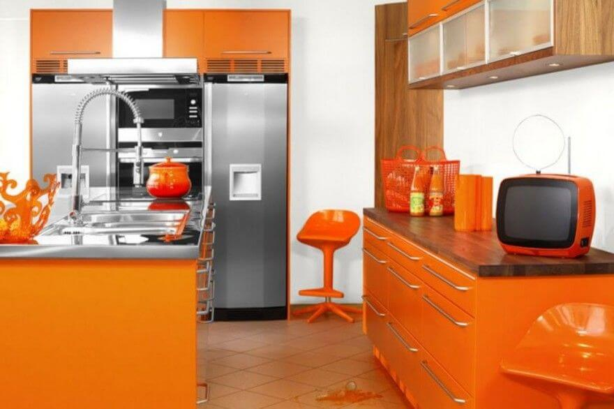 Orange Kitchen mod