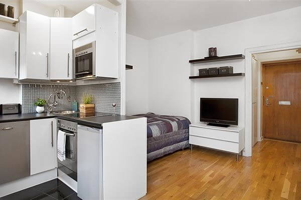 Small Apartment Design Ideas 600 x 400