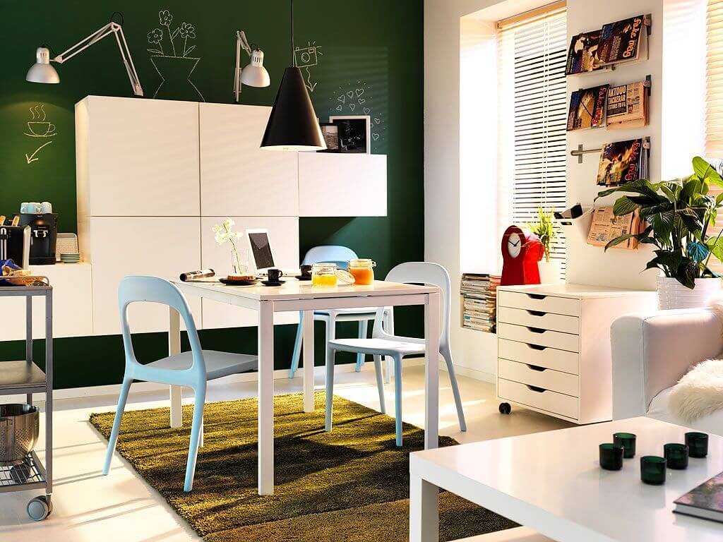 Very Nice Dining Room Idea for Small Spaces - Apartment Geeks