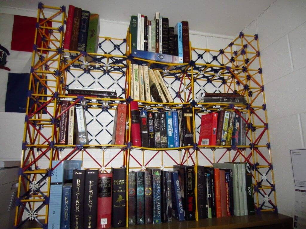 cool book case mod