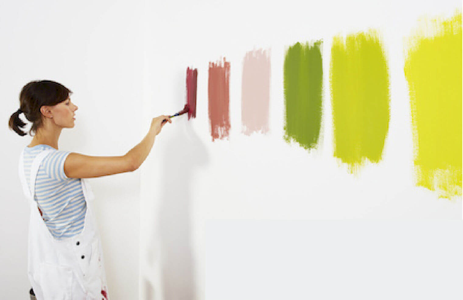 The Best And Cheapest Design Tips For Rented Apartments: a wall painting