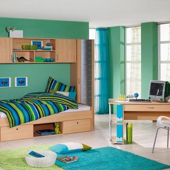 Little Boy Room Design Ideas: Small Boys' Room Decor Mod