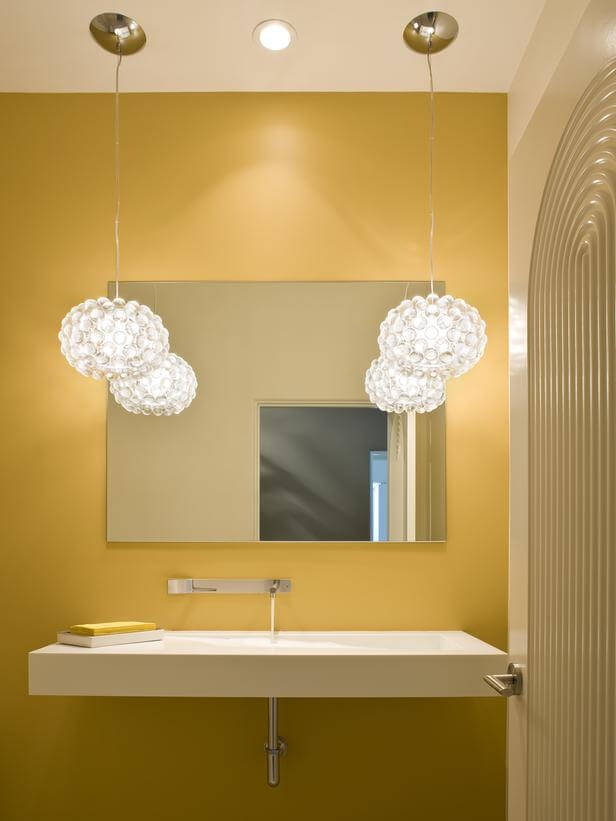 Bright inspiration: the best yellow bathrooms – Apartment Geeks