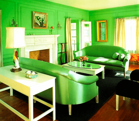 Green-Monochromatic-Room