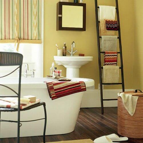 Homely Small Bathroom decor mod