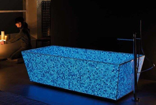 Illuminating Bathtub Mosaic mod