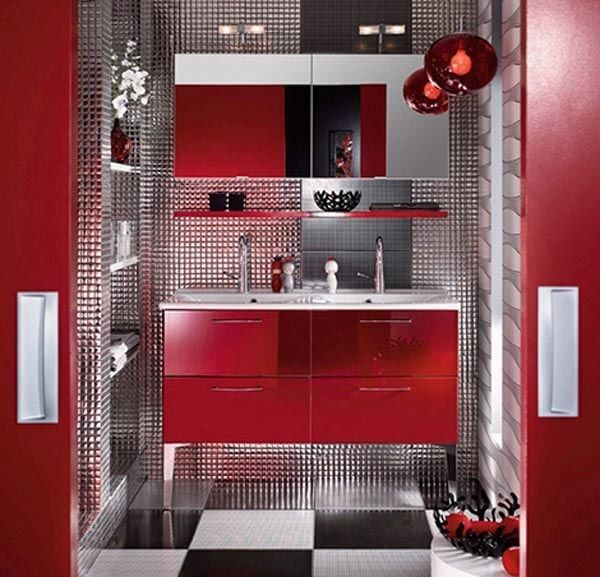 Metallic Red decor mod