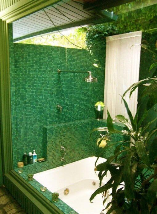 Natural Green Tile decor mod