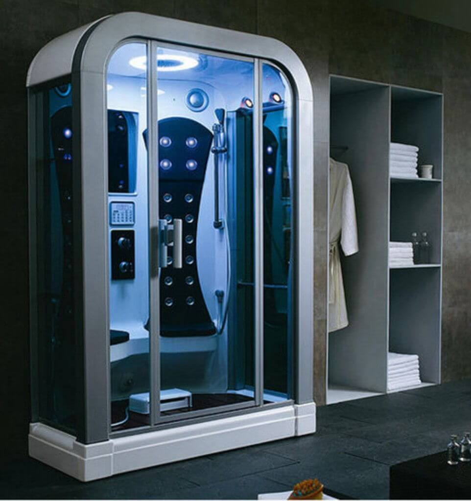 Ultra Modern Steam Shower Bathroom