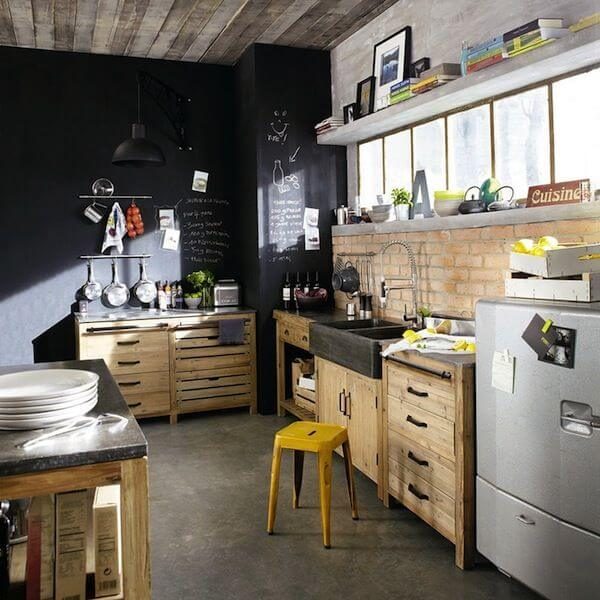 How to achieve the industrial look in your apartment - Industrial Look Kitchen Image