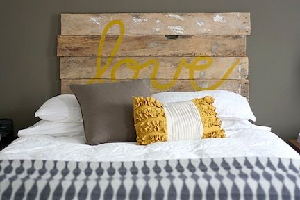 Make Your Own Headboard: It Will Give A Different And More Complete Look To  Your Bed And You Might Be Able To Hide Some Ugly Hole On The Wall. Part 60