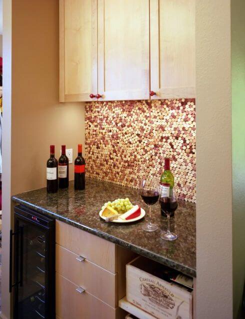 wine-cork-kitchen-backsplash