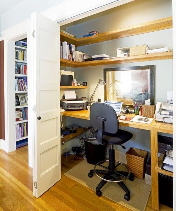 Amazing Home Office: 21 Amazing Ideas For Organizing Your Home