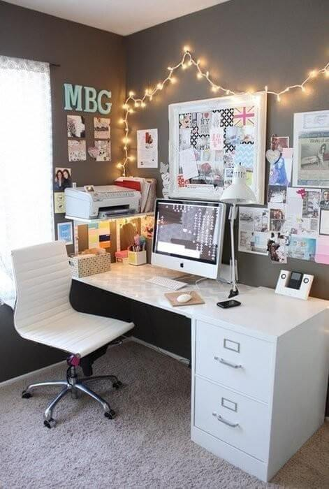 Transform that corner into a beautiful work space mod