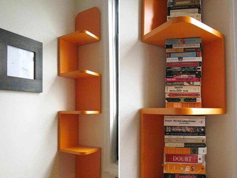 5. Hanging Shelf For Your Book Collection