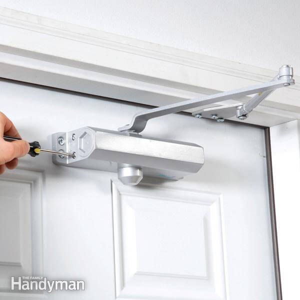Install  a Hydraulic Door Closer mod