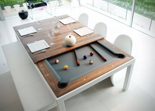 Pool Table into a Dinner Table