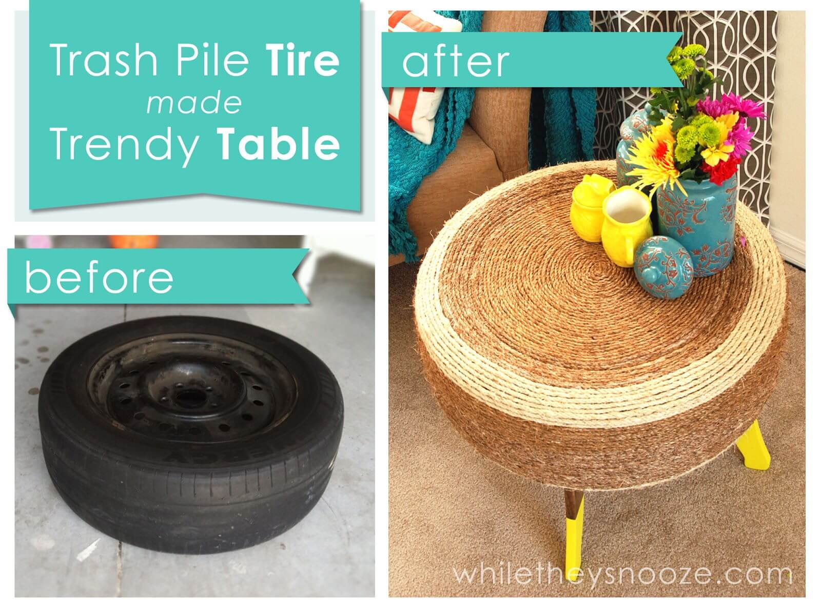 Trendy Tyre Table mod
