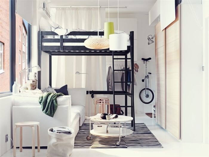 12 awesome beds in tiny spaces apartment geeks - Small beds for adults ...