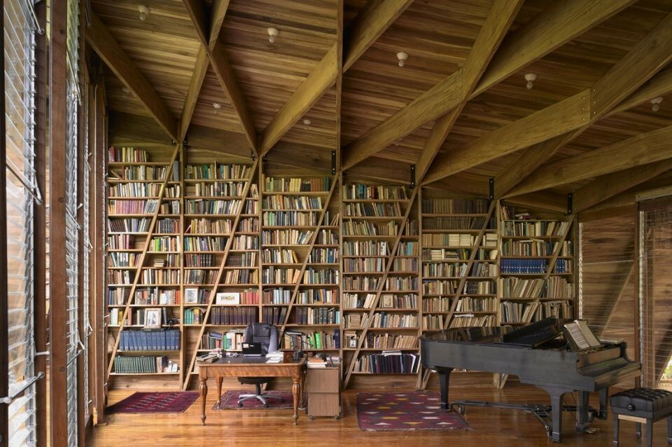An Idyllic Private Library