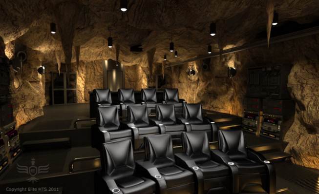 Batcave Home Theater mod