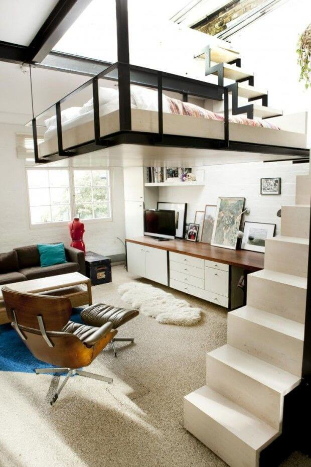 12 Awesome Beds in Tiny Spaces
