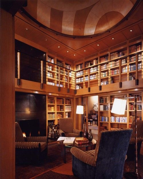 15 Inspirational Home Libraries