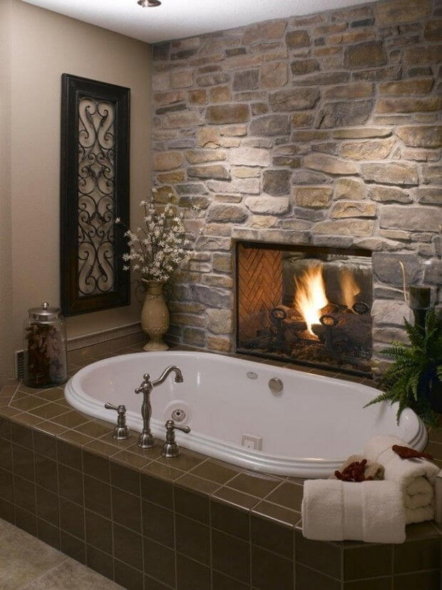 Fireplace and Bathtub mod