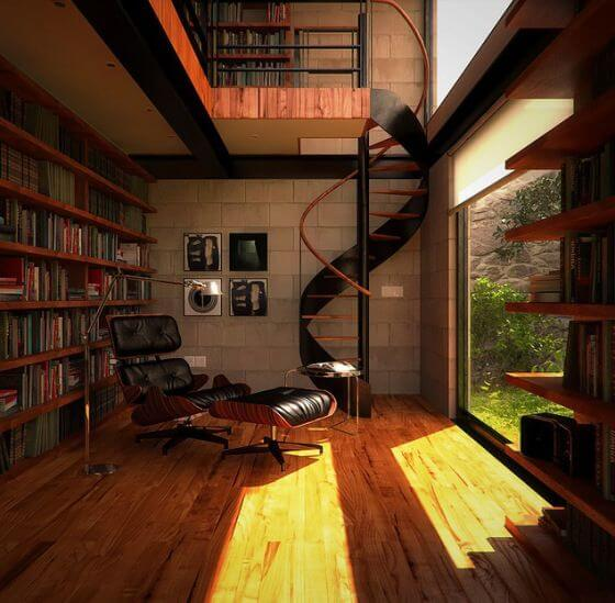Looking For An Apartment: 15 Inspirational Home Libraries