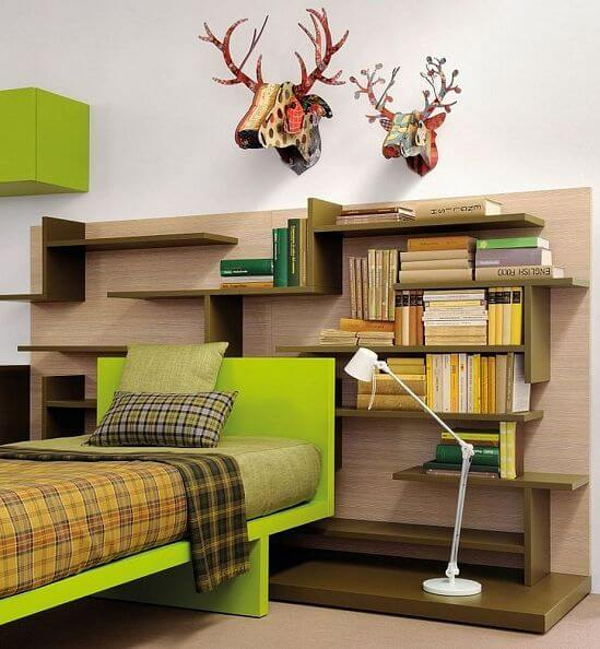 Shelves Headboard