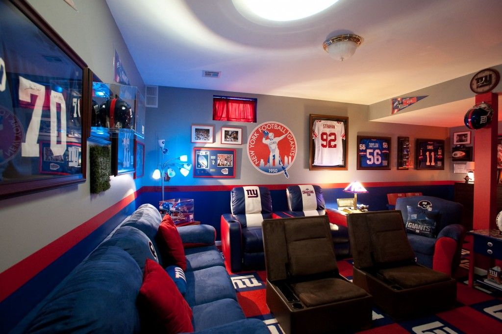 The Giants Fan Man Cave mod