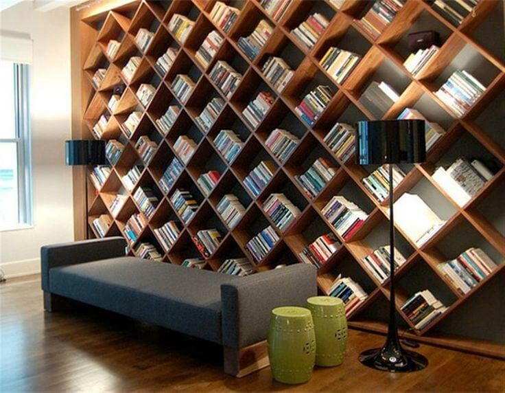 The Wall Bookshelves