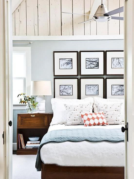Wall of Frames Headboard