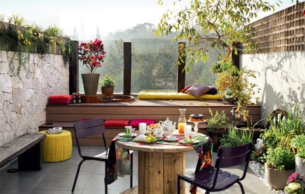10 magnificent gardens you can have on your balcony for Balcony zen garden