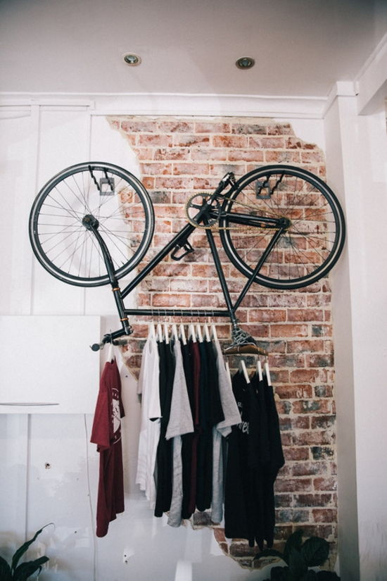 Bike Clothing Rack