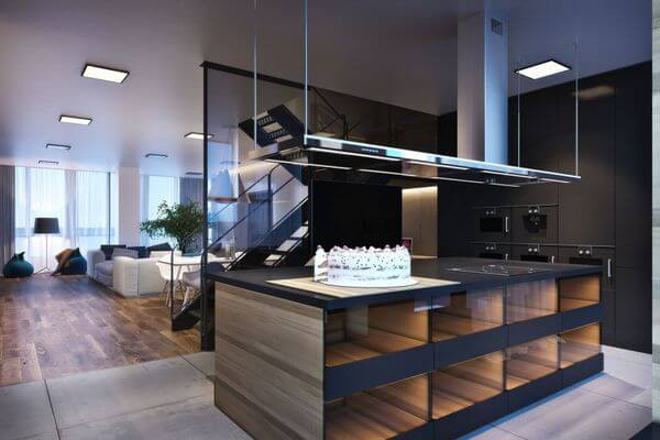 this beautiful apartment in kiev is showing everyone what modern really means its completely minimalist but doesnt have cold and sterile vibe - Minimalist Apartment Design