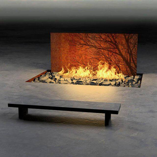 53 Most Amazing Outdoor Fireplace Designs Ever: 13 Most Amazing Fireplaces On Earth