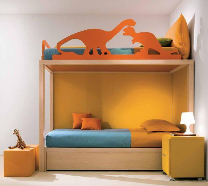 11 modern bunk bed designs apartment geeks for Bedroom designs plywood