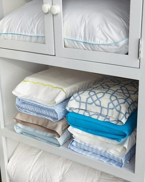 Store Sheets Inside of Pillowcases