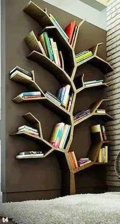 Tree Shaped Bookshelf